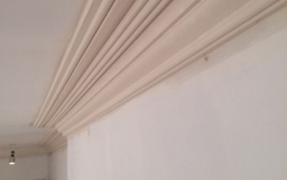 Stock cornice and panel moulded ceilings in Chobham